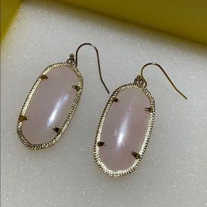 Kendra Scott Jewelry - Dani Earrings Rose Quartz Kendra Scott
